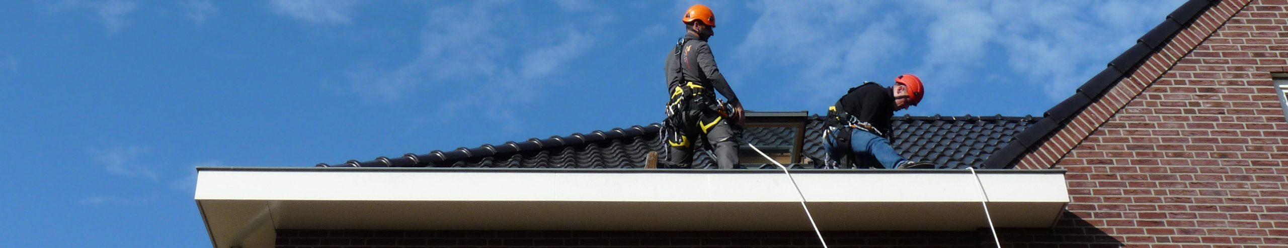 rope access inspectie dak