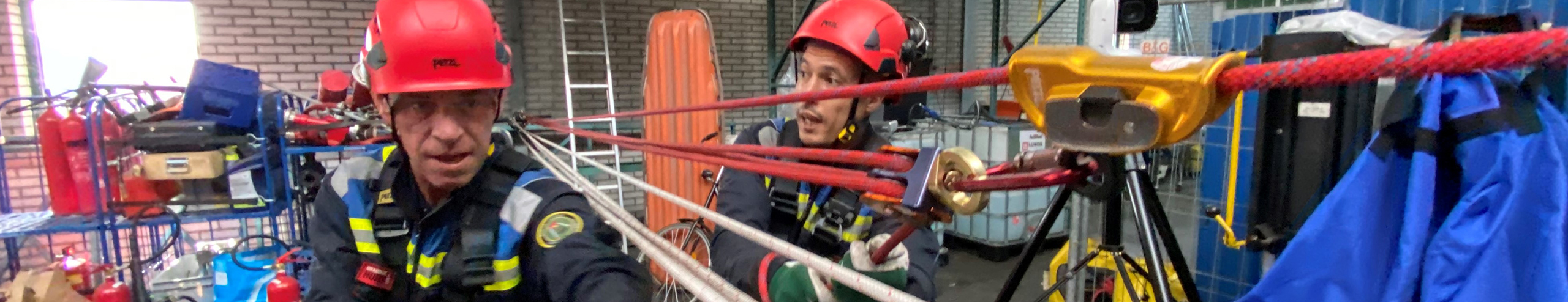Rescue Training Brandwachthuren Rope Access